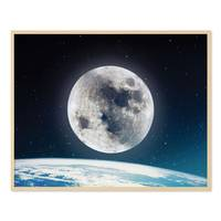 Poster 'Nightly Sky' 40x50 cm Motiv Welt Mond Erde All – Bild 5