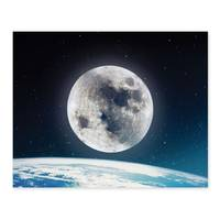 Poster 'Nightly Sky' 40x50 cm Motiv Welt Mond Erde All – Bild 2