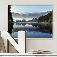 Poster See 30x40 cm Motiv Natur Landschaft Wasser Foto
