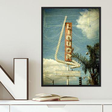Poster 'Sign' 30x40 cm Motiv Fun Zeichen Vintage Schild