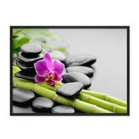 Poster 'Spa' 30x40 cm Motiv Wellness Zen Steine Foto – Bild 3