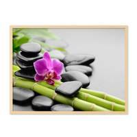 Poster 'Spa' 30x40 cm Motiv Wellness Zen Steine Foto – Bild 5