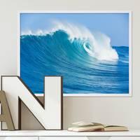 Poster 'Welle' 30x40 cm Motiv Meer Strand Natur Foto Maritim