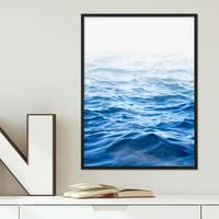 Poster 'Wasser' 30x40 cm Motiv Meer See Welle Natur Foto Maritim – Bild 4