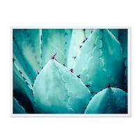 Poster 'Agave Abstrakt' 30x40 cm Natur Landschaft Foto Kaktus – Bild 4