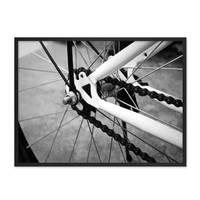 Poster 'Fahrrad' 30x40 cm schwarz-weiss Motiv Bike Foto – Bild 3