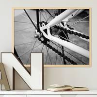 Poster 'Fahrrad' 30x40 cm schwarz-weiss Motiv Bike Foto – Bild 1