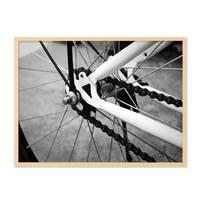 Poster 'Fahrrad' 30x40 cm schwarz-weiss Motiv Bike Foto – Bild 5