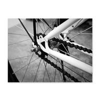 Poster 'Fahrrad' 30x40 cm schwarz-weiss Motiv Bike Foto – Bild 2