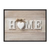 Poster 'Home' 30x40 cm Motiv Landhausstil Wandbild Foto – Bild 3