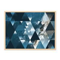 Design-Poster 'Sea' 30x40 cm Motiv See Ozean Abstrakt Landschaft – Bild 5