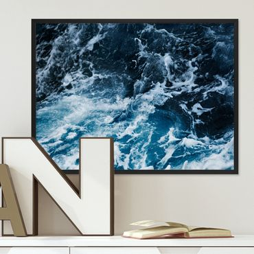 Poster 'Splashing' 30x40 cm Motiv Wasser See Ozean Meer Natur Foto