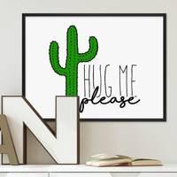 Poster 'Hug Me' 30x40 cm Fun Motiv Spruch Typographie – Bild 1
