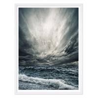Poster 'Stürmische See' 30x40 cm Foto Wellen Horizont – Bild 4