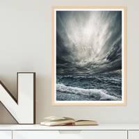 Poster 'Stürmische See' 30x40 cm Foto Wellen Horizont – Bild 5