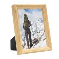 Vintage Bilderrahmen Shabby-Chic Eiche 13x18 cm Massivholz mit Glasscheibe und Zubehör / Fotorahmen / Portraitrahmen  – Bild 1