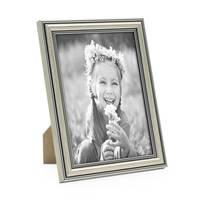 BilderrahmenSilber Barock Antik 10x15 cm Fotorahmen