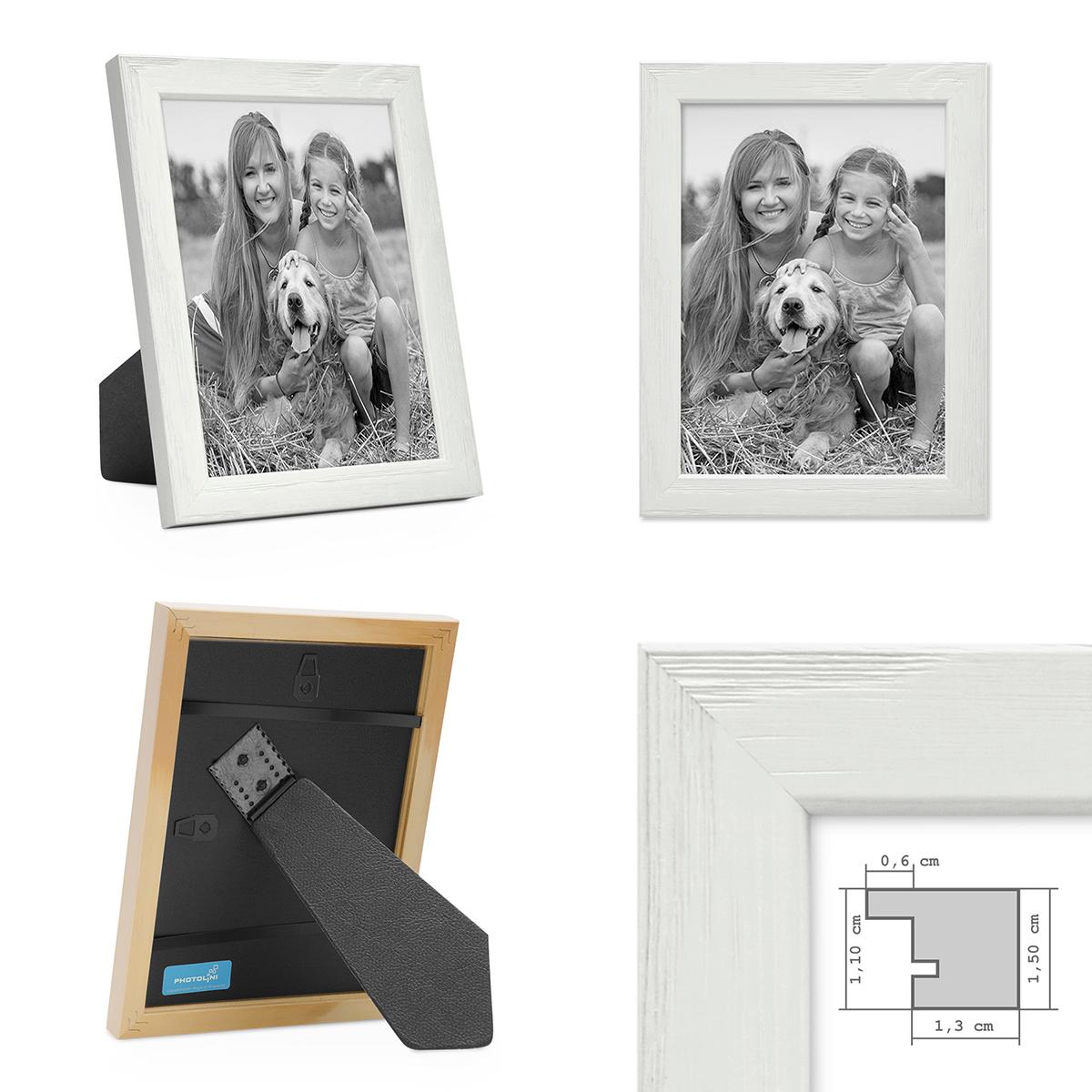 Bilderrahmen Weiss Mit Acrylglas 10x15 Cm