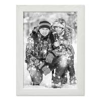 3er Set Bilderrahmen Weiss 18x24 cm Massivholz mit Acrylglasscheibe / Fotorahmen / Wechselrahmen – Bild 6