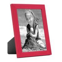 Bilderrahmen Rot mit Acrylglas 18x24 cm