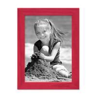 3er Set Bilderrahmen Rot 10x15 cm Massivholz mit Acrylglasscheibe / Fotorahmen / Wechselrahmen – Bild 5