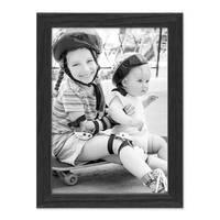 3er Set Bilderrahmen Schwarz 15x20 cm Massivholz mit Acrylglasscheibe / Fotorahmen / Wechselrahmen – Bild 6