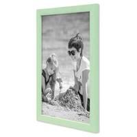 3er Set Bilderrahmen Grün 20x30 cm Massivholz mit Acrylglasscheibe / Fotorahmen Mint / Wechselrahmen – Bild 5