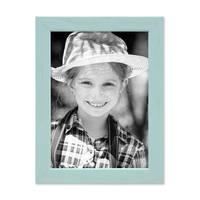 3er Set Bilderrahmen Blau 13x18 cm Massivholz mit Acrylglasscheibe / Fotorahmen Hellblau / Wechselrahmen – Bild 5