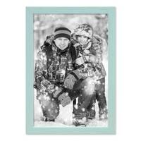 3er Set Bilderrahmen Blau 21x30 cm / DIN A4 Massivholz mit Acrylglasscheibe / Fotorahmen Hellblau / Wechselrahmen – Bild 6