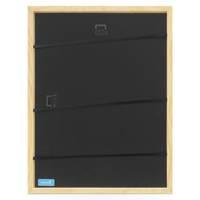 3er Set Bilderrahmen Blau 30x42 cm / DIN A3 Massivholz mit Acrylglasscheibe / Fotorahmen Hellblau / Wechselrahmen – Bild 6
