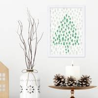 Poster Weihnachtsbaum 21x30 cm / DIN A4 – Bild 4